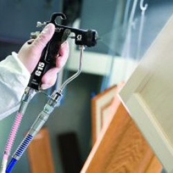 How to Spray Water Based Finishes
