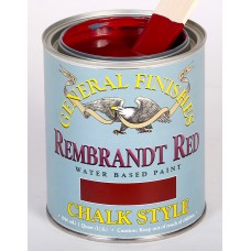 Chalk Style Paint Rembrandt Red - 946ml